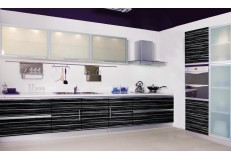 High gloss acrylic kitchen cabinets - DM9631