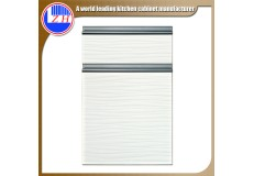 High gloss acrylic kitchen cabinets door with DM9603 acrylic sheet
