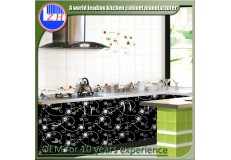 High gloss acrylic kitchen cabinets - DM9604