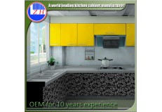 High gloss acrylic kitchen cabinets - DM9606