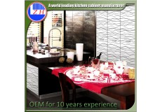 High gloss acrylic kitchen cabinets - DM9612