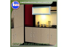 High gloss acrylic kitchen cabinets - DM9614