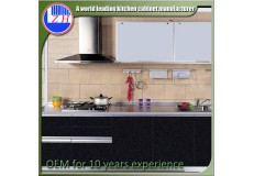 High gloss acrylic kitchen cabinets - DM9616