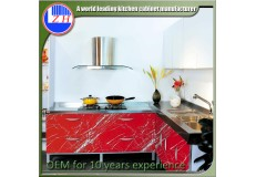 High gloss acrylic kitchen cabinets - DM9617