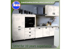 High gloss acrylic kitchen cabinets - DM9618