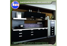 High gloss acrylic kitchen cabinets - DM9623