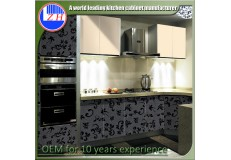 High gloss acrylic kitchen cabinets - DM9624