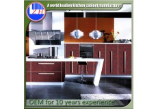 High gloss acrylic kitchen cabinets - DM9626