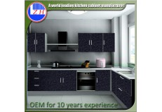 High gloss acrylic kitchen cabinets - DM9627