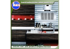 High gloss acrylic kitchen cabinets - DM9630