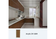 High gloss acrylic kitchen cabinet - ZH1604