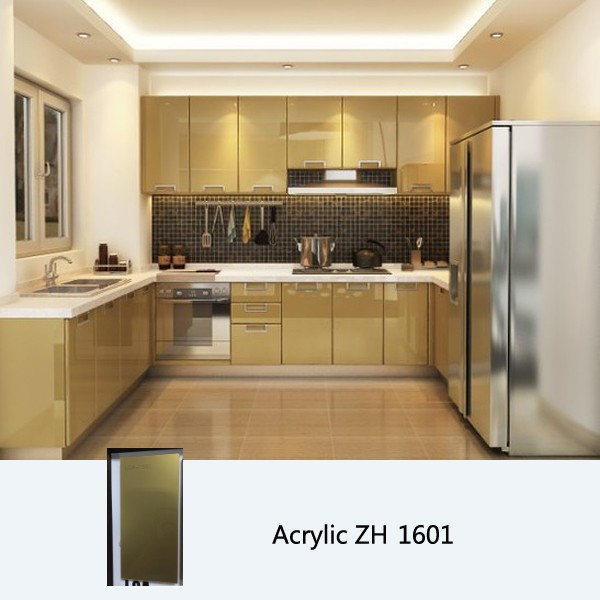 High Gloss Kitchen Cabinet, Customized Kitchen Cabinets