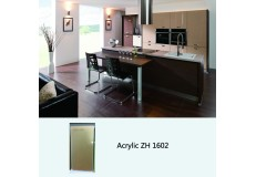 High gloss acrylic kitchen cabinets - ZH1602