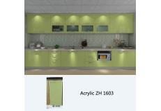 High gloss acrylic kitchen cabinets - ZH1603
