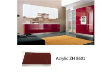 High gloss acrylic kitchen cabinets ZH8601