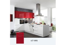 PETG high gloss finish LCT kitchen cabinet LCT3001