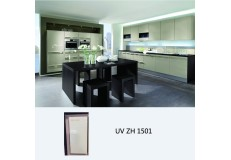 high gloss uv kitchen cabinets zh1501
