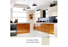 PETG semi gloss finish LCT kitchen cabinet ZH3003