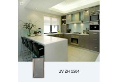 High gloss UV coated kitchen cabinet  ZH1504