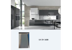 High gloss UV coated modern design kitchen cabinet ZH1508