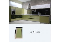 High gloss UV coated wooden kitchen cabinet ZH1506