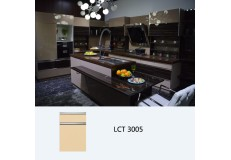 Semi Gloss PETG Kitchen Cabinet LCT3005