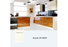 High gloss acrylic finish custom kitchen cabinet ZH8620
