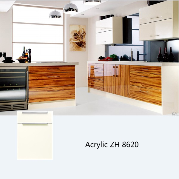 Custom Kitchen Cabinet Accessories: High Gloss Kitchen Cabinet, Customized Kitchen Cabinets