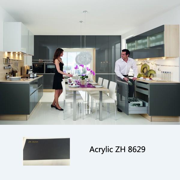 High Gloss Kitchen Cabinet Customized Kitchen Cabinets Sliding