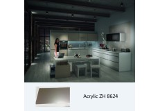 High gloss modern modular kitchen cabinet ZH8624