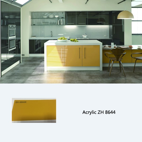 High gloss kitchen cabinet, Customized Kitchen Cabinets ...