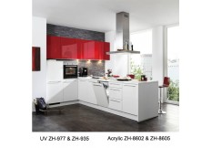 Ready made simple china kitchen cabinet design ZH935