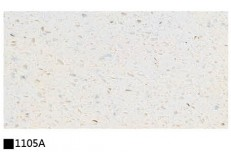 Kitchen cabinet quartz stone countertop single color 1105A