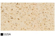 Kitchen cabinet quartz stone countertop single color 1121A