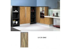 Australian standard UV high gloss wood grain kitchen cabinet ZH3942