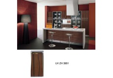 Maldives project high gloss kitchen cabinet ZH3951