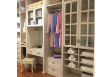 Bedroom melamine coated wardrobe