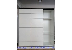 Bedroom sliding melamine wardrobe