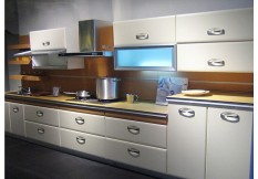 High glossy white lacqure kitchen cabinet joinney