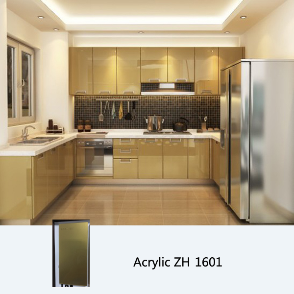 High gloss kitchen cabinet customized kitchen cabinets for High gloss kitchen cabinets
