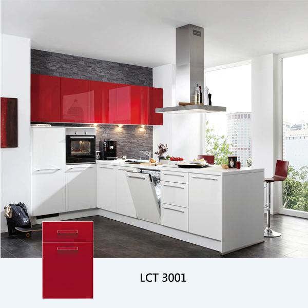 Kitchen Cabinets White High Gloss: High Gloss Kitchen Cabinet, Customized Kitchen Cabinets