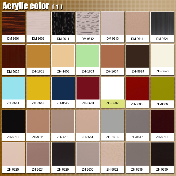 acrylic colors for kitchen cabinet