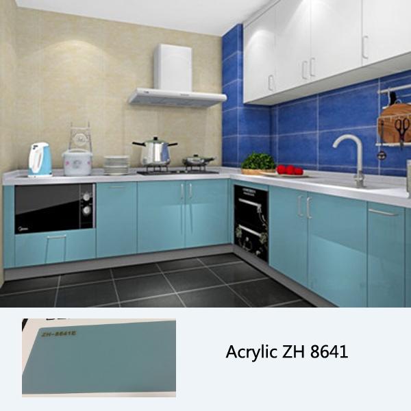 High Gloss Kitchen Cabinet, Customized Kitchen Cabinets