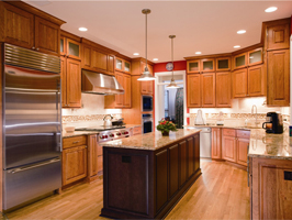 traditional style kitchen cabinet