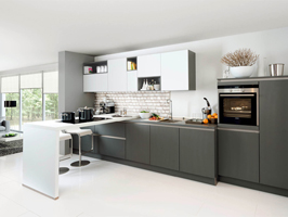 new trend lct petg kitchen cabinet